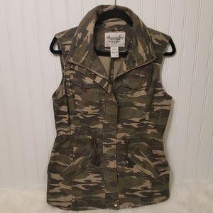 American Rag Camo Vest